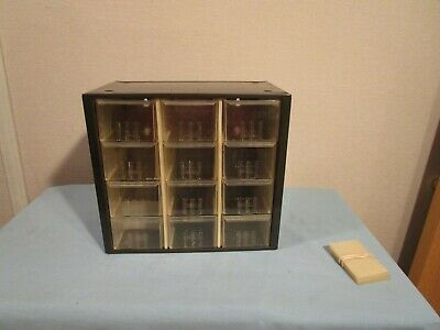 Vintage Akro-mils Metal Small Parts 12-drawer Cabinet