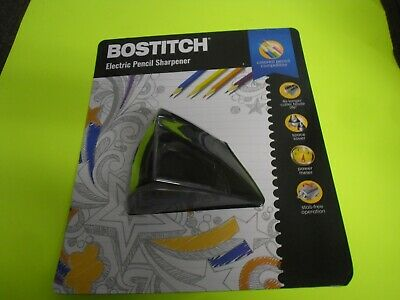 New Bostitch Electric Pencil Sharpener 4 X Longer Cutter Blade Life Space Saver