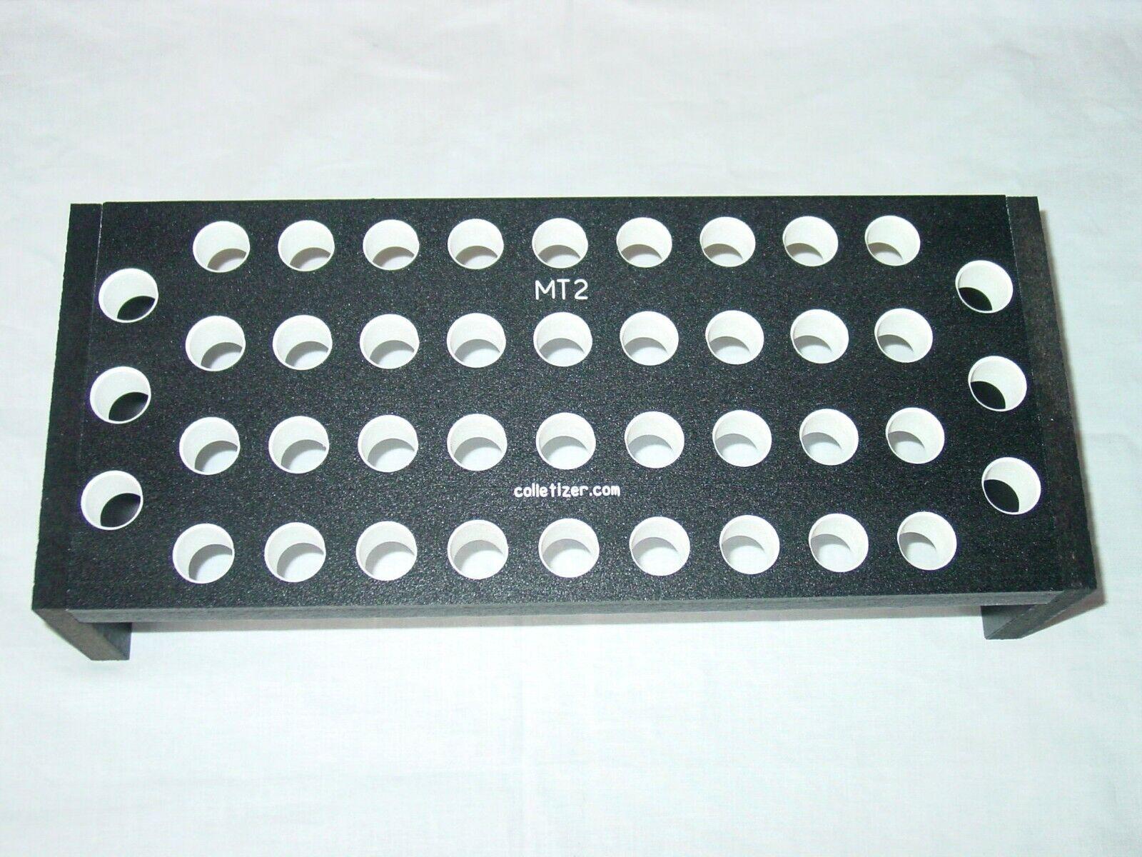 #2 Morse Taper Shank Drill Bit Bench-Top Storage Rack Stand,