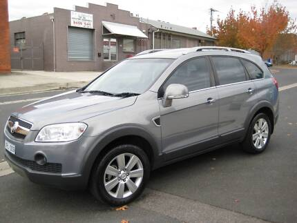 2010 Holden Captiva LX 7 SEATER LEATHER/SUNROOF/SATANV A1 Heidelberg West Banyule Area Preview