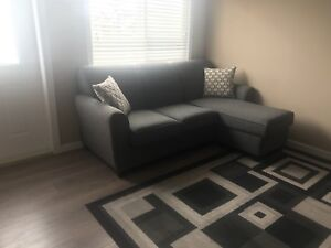 Apartment style sectional