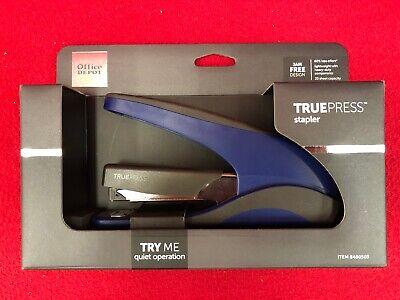 Brand New Truepress Stapler Quiet Jam Free Lightweight Less Effort Blackblue