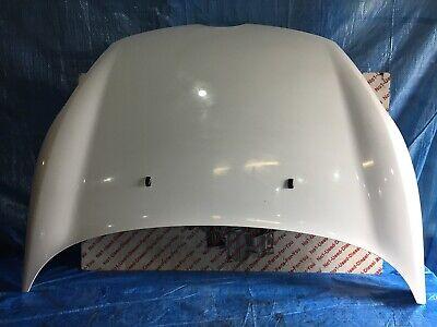 08-12 FORD FIESTA MK7 VAN/CAR 3DR BONNET FROZEN WHITE