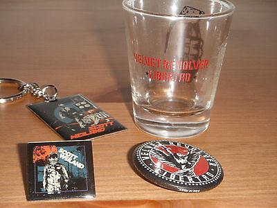 Velvet Revolver Scott Weiland STP Button Pin Enamel pin / Keychain shotglass lot