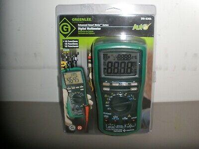 Greenlee Dm-830a Digital Multimeter