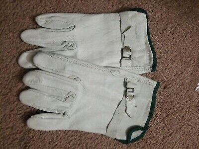 Leather Work Gloves Medium