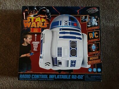 FACTORY SEALED,BOXED - Star Wars JUMBO Large Inflatable Radio Control R2-D2