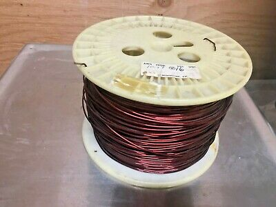 Magnet Copper Wire 16awg  7 34 Pound Spool Magnetic Coil Winding