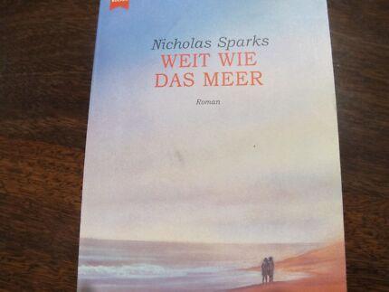 German Fiction  -  Weit wie das Meer (N. Sparks) Dianella Stirling Area Preview