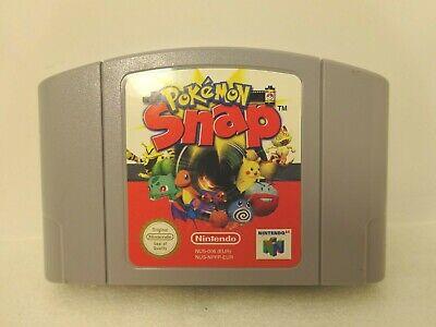 Nintendo N64 Pokemon Snap Game Cartridge Only NUS- NPFP- EUR