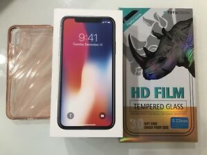 *Like New* unlocked iPhone X 256GB Space Grey with accessories