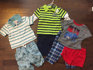 12-18M Baby Boy Summer Clothing Bundle!
