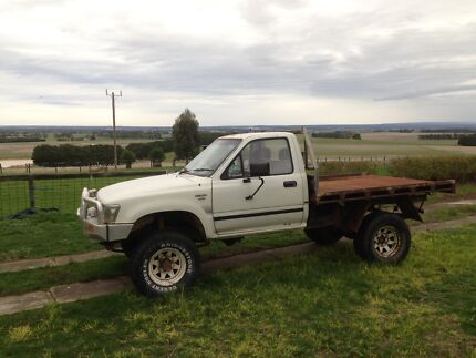Wrecking Hilux 4x4 commodore V6  Gnarwarre Surf Coast Preview