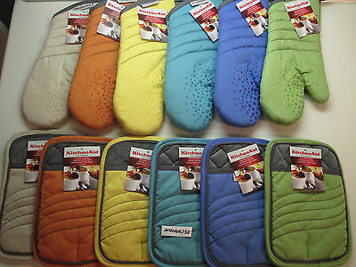 KitchenAid choice of pot holder or oven mitt in choice of co