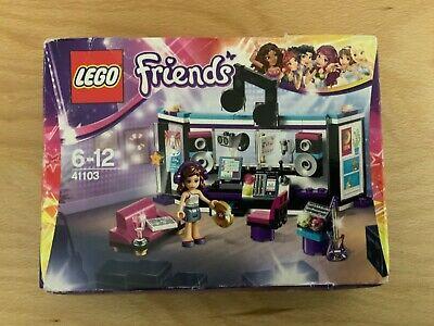 LEGO 41103 Friends Pop Star Recording Studio Retired & Rare New sealed Box £0.99