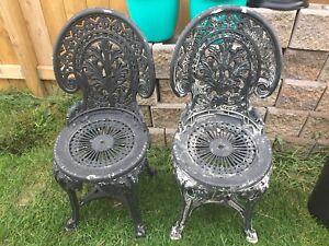 Plastic Ornamental Chairs