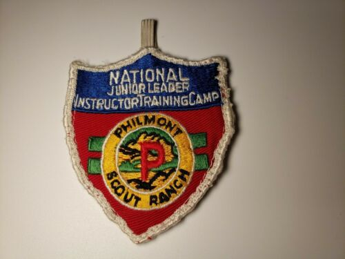 Boy Scout Philmont Scout Ranch National Junior Leader Instructor Training Camp