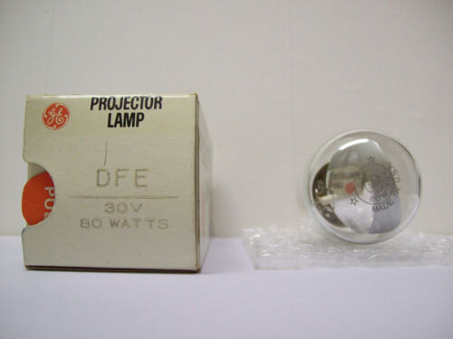 DFE Projector Projection Lamp Bulb 80W  30V GE Brand *AVG. 15-HOUR LAMP*