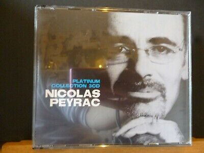CD NICOLAS PEYRAC - PLATINUM COLLECTION 3 CD - TTB ETAT