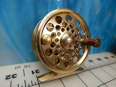 Vintage Fly Reel PFLUEGER 1834 supreme gold floating line fishing lure trout