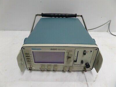 Tektronix 1502c Metallic Tdr Cable Tester With Yt-1s Chart Recorder Module