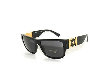 Versace 4369 GB1/87 Black Gray  Sunglasses D