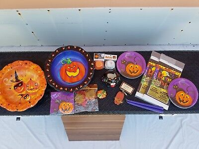 Junk Drawer Lot of Halloween Table Decorations New Items for A Party - Table Decorations For Halloween Party