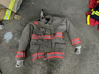Firefighter Jacket Turnout Size 48 3036 35 Morning Pride