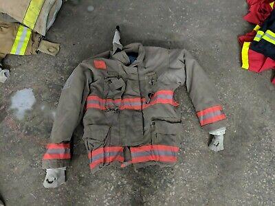 Firefighter Jacket Turnout Size 48 3036 35 Morning Pride