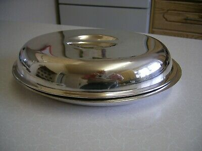 Vintage Watson & Gilliot Silver Plated Entree Dish & Cover (2150)