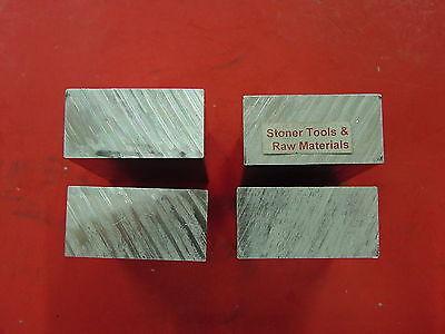 4 Pieces 1 X 2 Aluminum 6061 Flat Bar 2 Long Solid T6511 Mill Stock 1.00x 2