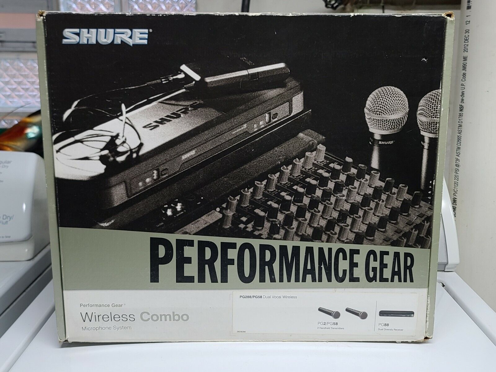 Shure Wireless Combo PG2/PG58 Handheld Transmitter With PG88 Receiver - $250.00