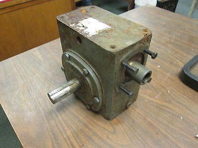 Boston Gear Reducer 726-10-b7-g Ratio 101 3.63 Hp In 1181 In-lb Torque Out Used