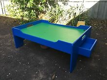 Kids Lego table with draws Benalla Benalla Area Preview