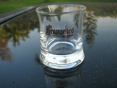 FRANGELICO SHOT GLASS FLARED AND HEAVY BOTTOM 2.25