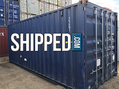 20 Ft Steel Shipping Container - We Deliver - Secure Home Storage In Slc Utah