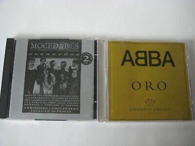 Original Cds ~ ABBA Oro: Grandes Exitos + Mocedades Recuerdos