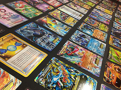 Pokemon Card Lot 100 OFFICIAL TCG Cards Ultra Rare Included - GX EX MEGA + HOLOS