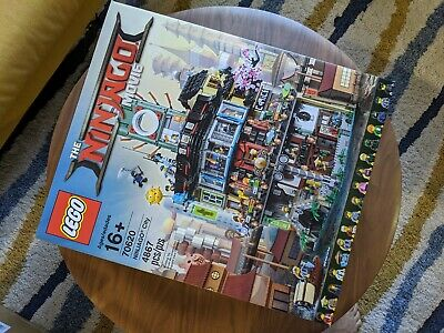 LEGO Ninjago Movie NINJAGO City 70620 — *100% Complete, Retired Product*