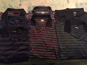 7 XXL Golf Shirts, Top Brands, Like New