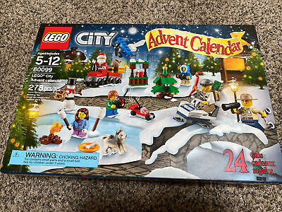 LEGO 60099 City: Advent Calendar 2015, CHRISTMAS, Used, complete box.