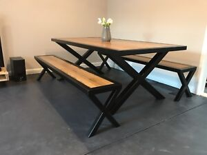 Recycled timber dining  table / Out door table