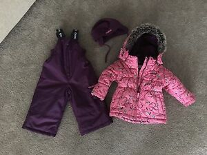 18 month girls snowsuit