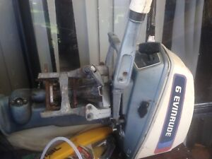 Evinrude 6hp outboard motor