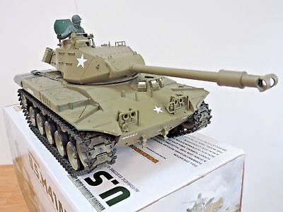 U.S Military 2.4G Heng Long Walker Bulldog M41A3 Smoking Sound BB RC Battle Tank