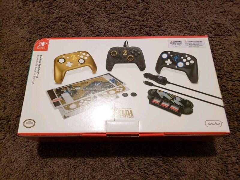 Legend Of Zelda Switch Bundle Pack - PDP Winter 2018 Exclusive - Nintendo...