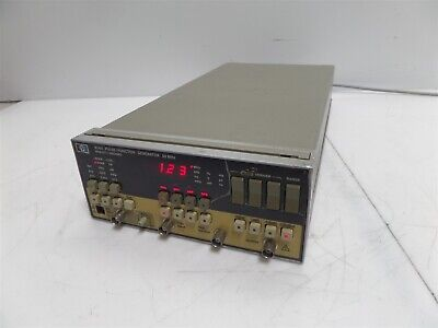 Hp Hewlett-packard 8116a 50mhz Pulsefunction Generator
