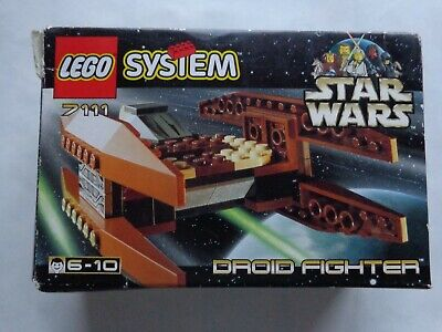 Lego System 7111 Star Wars Droid Fighter 1999