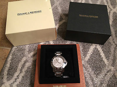 Men's Baume & Mercier Capeland Automatic Stainless Steel Watch