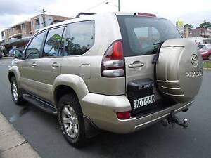 Toyota LandCruiser prado 2003 MY04 GXL, AUTO, 1 OWNER LONG REGO Guildford Parramatta Area Preview
